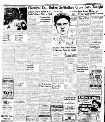 Naugatuck Daily News from Naugatuck, Connecticut on August 10, 1944 · Page 6
