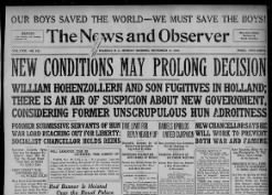 The News and Observer