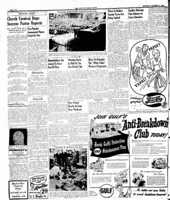 Naugatuck Daily News from Naugatuck, Connecticut on August 14, 1944 · Page 2