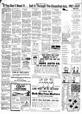 Hope Star from Hope, Arkansas on April 12, 1968 · Page 5