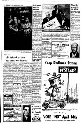Redlands Daily Facts from Redlands, California on April 11, 1964 · Page 8