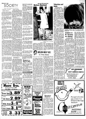 Hope Star from Hope, Arkansas on April 15, 1968 · Page 2