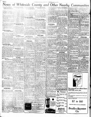 Sterling Standard from Sterling, Illinois on October 9, 1928 · Page 6
