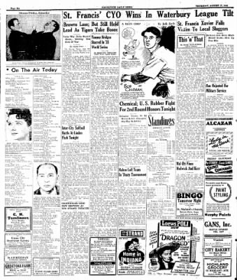 Naugatuck Daily News from Naugatuck, Connecticut on August 17, 1944 · Page 6