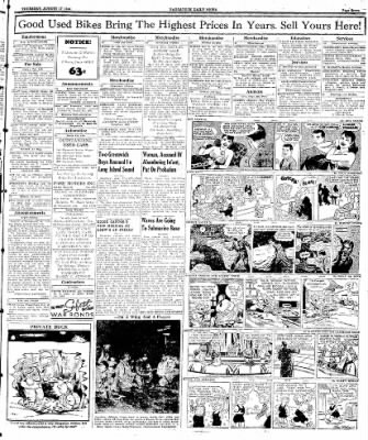 Naugatuck Daily News from Naugatuck, Connecticut on August 17, 1944 · Page 7
