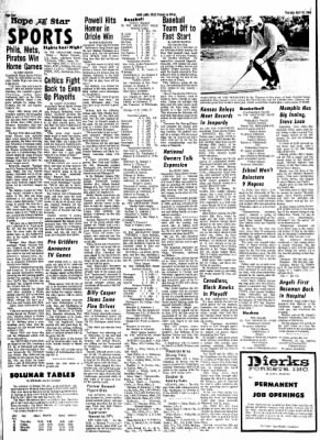 Hope Star from Hope, Arkansas on April 18, 1968 · Page 3