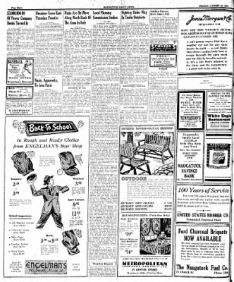Naugatuck Daily News from Naugatuck, Connecticut on August 18, 1944 · Page 8