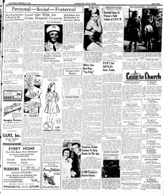 Naugatuck Daily News from Naugatuck, Connecticut on August 19, 1944 · Page 3