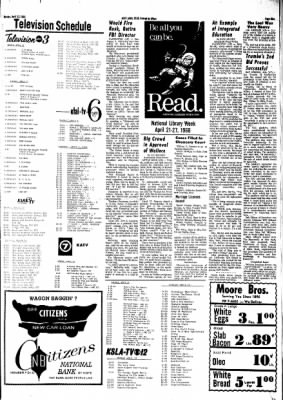 Hope Star from Hope, Arkansas on April 22, 1968 · Page 9