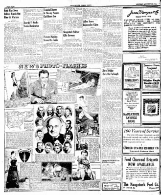Naugatuck Daily News from Naugatuck, Connecticut on August 21, 1944 · Page 8