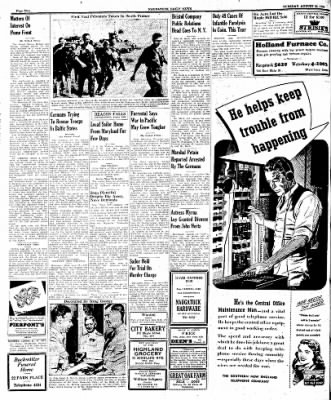 Naugatuck Daily News from Naugatuck, Connecticut on August 22, 1944 · Page 2