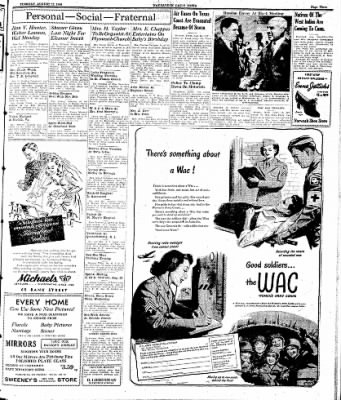 Naugatuck Daily News from Naugatuck, Connecticut on August 22, 1944 · Page 3