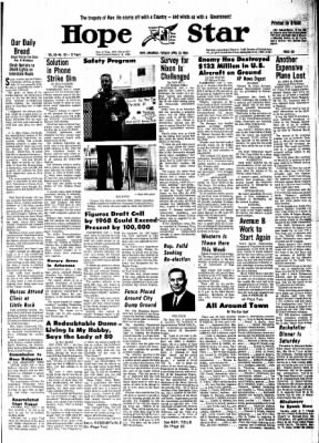 Hope Star from Hope, Arkansas on April 23, 1968 · Page 10