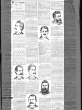 Sketches of anarchists tried for Haymarket murder, and descriptions of last hours of those hanged