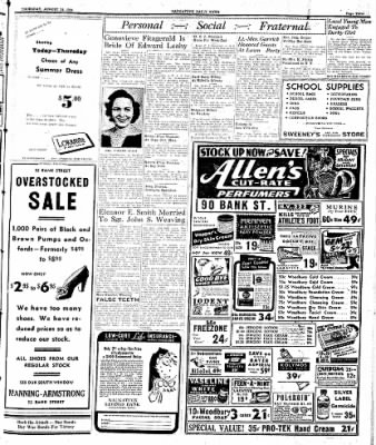 Naugatuck Daily News from Naugatuck, Connecticut on August 24, 1944 · Page 3