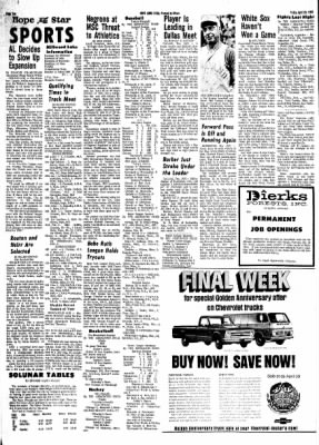 Hope Star from Hope, Arkansas on April 26, 1968 · Page 9