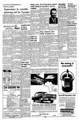Redlands Daily Facts from Redlands, California on April 21, 1964 · Page 4