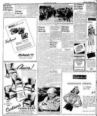 Naugatuck Daily News from Naugatuck, Connecticut on August 25, 1944 · Page 2