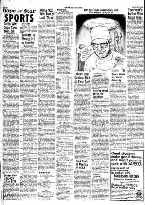 Hope Star from Hope, Arkansas on April 29, 1968 · Page 3