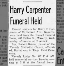 Carpenter, Harry 1963