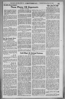 The Gazette and Daily from York, Pennsylvania on March 25, 1948 · Page 21