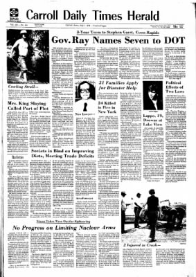 Carrol Daily Times Herald from Carroll, Iowa on July 1, 1974 · Page 1
