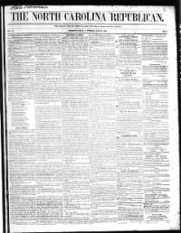 Sample North Carolina Republican front page