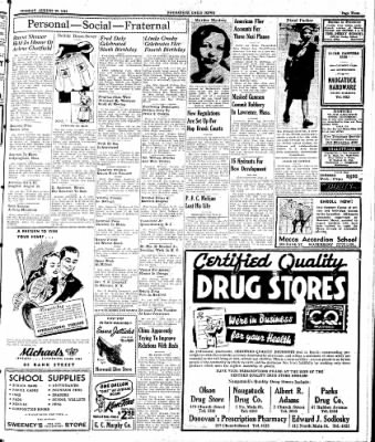 Naugatuck Daily News from Naugatuck, Connecticut on August 29, 1944 · Page 3