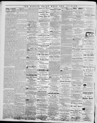 Bangor Daily Whig and Courier from Bangor, Maine on April 1, 1869 · 2