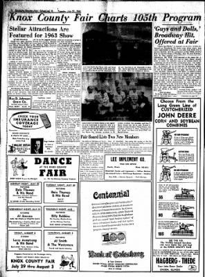Galesburg Register-Mail from Galesburg, Illinois on July 23, 1963 · Page 14