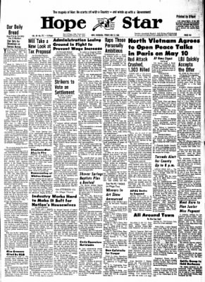 Hope Star from Hope, Arkansas on May 3, 1968 · Page 10