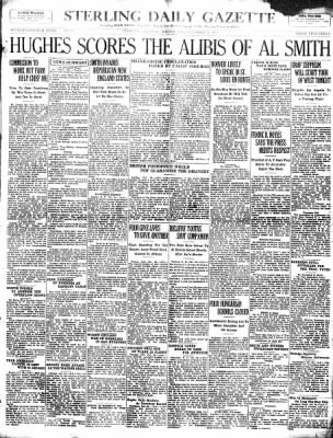 Sterling Standard from Sterling, Illinois on October 24, 1928 · Page 1