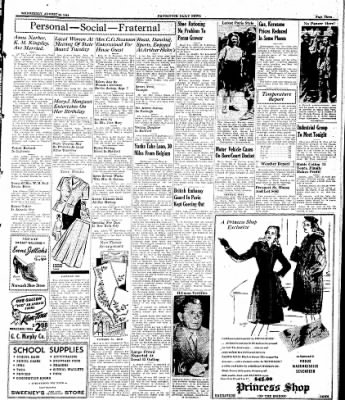 Naugatuck Daily News from Naugatuck, Connecticut on August 30, 1944 · Page 3