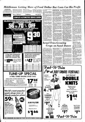 Carrol Daily Times Herald from Carroll, Iowa on July 3, 1974 · Page 10