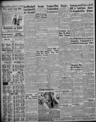Somerset Daily American from Somerset, Pennsylvania on June 12, 1952 ...