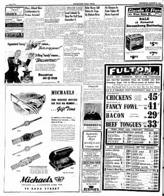 Naugatuck Daily News from Naugatuck, Connecticut on August 31, 1944 · Page 2