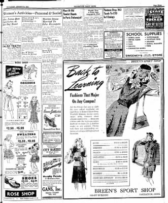 Naugatuck Daily News from Naugatuck, Connecticut on August 31, 1944 · Page 3