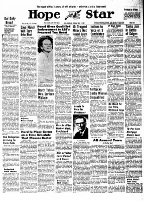 Hope Star from Hope, Arkansas on May 7, 1968 · Page 10