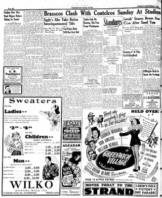 Naugatuck Daily News from Naugatuck, Connecticut on September 1, 1944 · Page 6