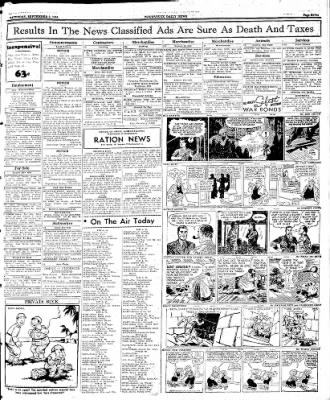 Naugatuck Daily News from Naugatuck, Connecticut on September 2, 1944 · Page 7