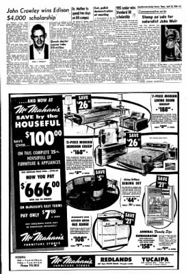 Redlands Daily Facts from Redlands, California on April 30, 1964 · Page 11
