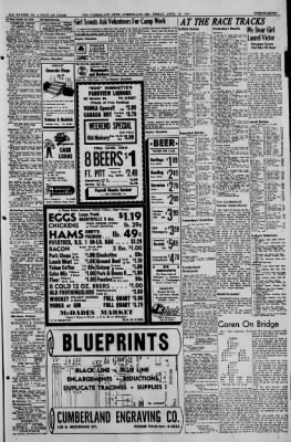 The Cumberland News from Cumberland, Maryland on April 28