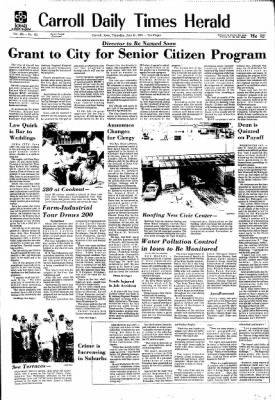Carrol Daily Times Herald from Carroll, Iowa on July 11, 1974 · Page 1
