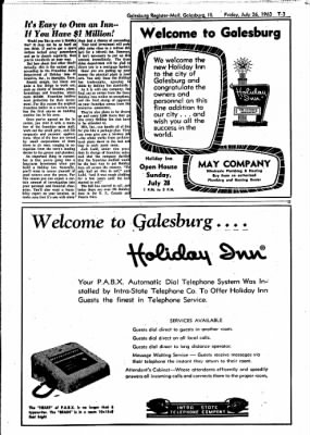 Galesburg Register-Mail from Galesburg, Illinois on July 26, 1963 · Page 25