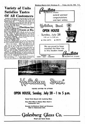 Galesburg Register-Mail from Galesburg, Illinois on July 26, 1963 · Page 29