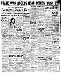 Sample Arizona Daily Sun front page