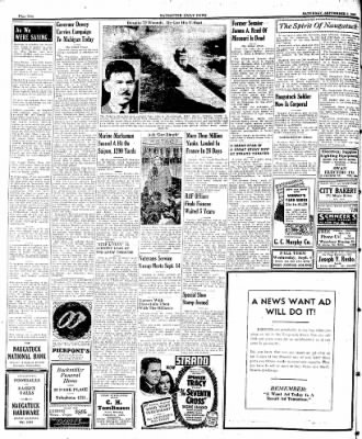 Naugatuck Daily News from Naugatuck, Connecticut on September 9, 1944 · Page 2