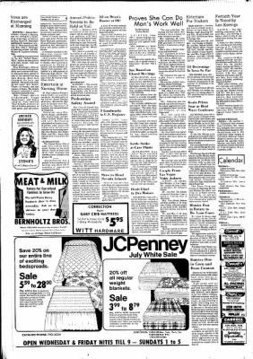 Carrol Daily Times Herald from Carroll, Iowa on July 16, 1974 · Page 4
