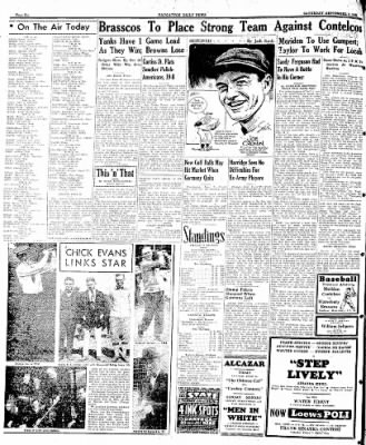 Naugatuck Daily News from Naugatuck, Connecticut on September 9, 1944 · Page 6