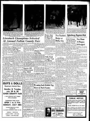 Galesburg Register-Mail from Galesburg, Illinois on July 27, 1963 · Page 13